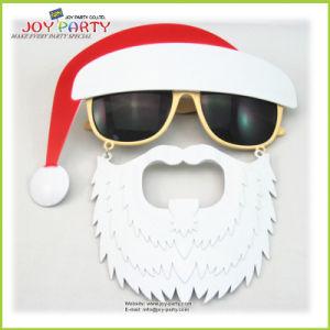 Hot Sale Christmas Hat Plastic Party Glasses (Joy31-1000) pictures & photos