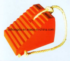 Factory Hot Sale High Quality Rubber Wheel Chock pictures & photos
