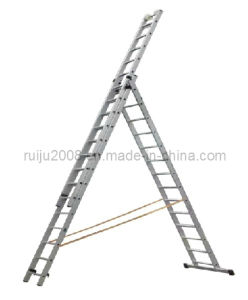 Ruiju 3 Section Combined Aluminum Ladder pictures & photos