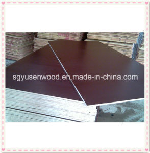 Concrete Formwork Construction Film Faced Plywood pictures & photos