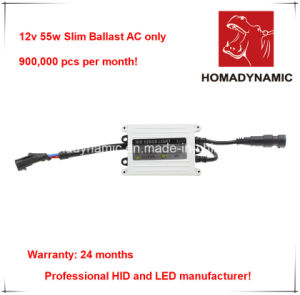 12V 55W High Power HID Slim Ballast/HID Xenon Ballast with 24 Months′ Warranty pictures & photos