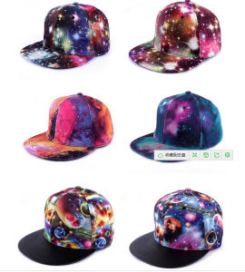 Twill Pattern Cotton Material Fashion Hiphop Flat Hat pictures & photos