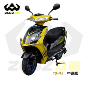 CE High Quality E Electric Motorcycle with Wheel Lock (TD-95)