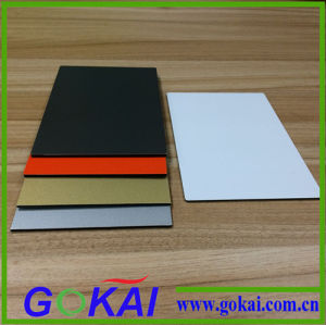 White 3mm Low Cheap PVDF Decorative Aluminum Composite Panel for Exterior Walls ACP pictures & photos
