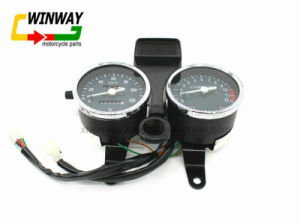 Ww-7207 Motorcycle Parts Instrument, Speedometer for Gn125 pictures & photos
