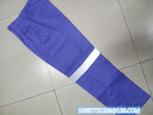 Work Pants with Reflevtive Tapes pictures & photos