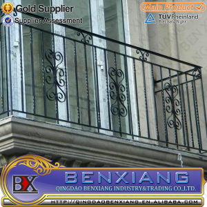 Solid Wrought Iron Window Grills pictures & photos