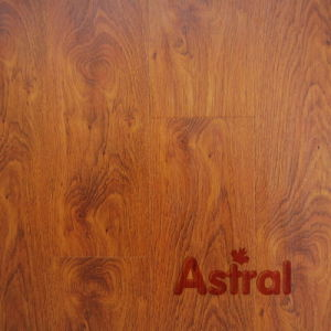 Handscraped Grain Surface (U Groove) Laminate Flooring (9104) pictures & photos