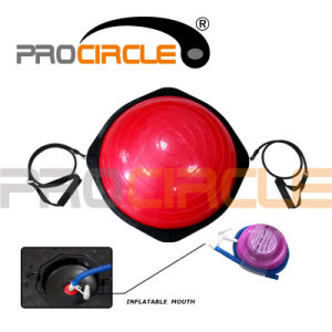 Half Yoga Ball Balance Trainer Bosu Ball with Hook (PC-BB2001) pictures & photos