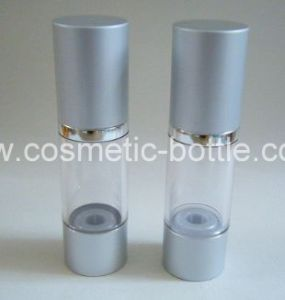 50ml Plastic Clear Airless Lotion Bottle (FAB-C02A)