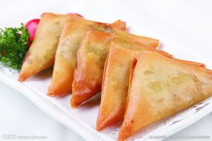 Fresh Hand-Made Vegetable Samosa 12.5g pictures & photos