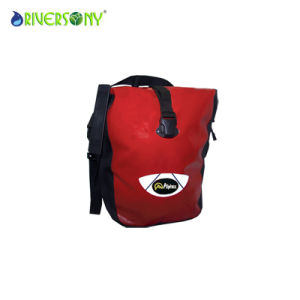Red Leather Bicyclet Bike Bag pictures & photos