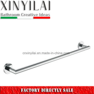 Quality Supplier-3592 Bathroom Chrome Plate Brass Towel Bar pictures & photos