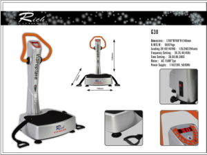 Fitness Massager/Vibration Plate/Body Building Crazy Fit Massage pictures & photos