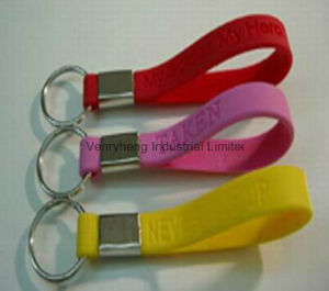 Customized Logo Personalised Silicon Wristband for Promotion Gift pictures & photos
