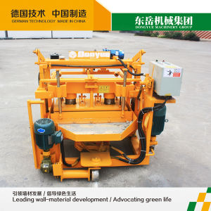 Dongyue Qt40-3A Mobile Moving Cement Hollow Block Manufacturing Machine pictures & photos
