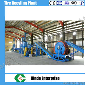 Waste Tyre Recycling Machine Plant/Rubber Crumb Production Line pictures & photos
