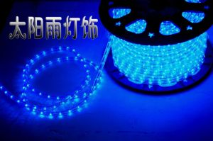 original light for round 2 wires blue waterproof for holiday beauty pictures & photos