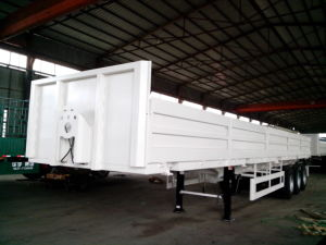 Factory′s 3 Axles 40t~80t Side Wall Semi Trailer pictures & photos