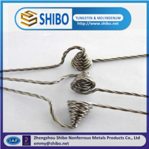 China Manufactory 99.95% Pure Twisted Tungsten Wire/Stranded Tungsten Wire pictures & photos