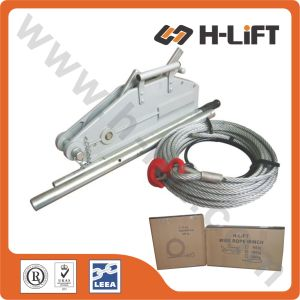 800kg Aluminum Body Wire Rope Pulling Hoist pictures & photos