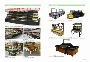 Supermarket Fruits and Vegetable Display Stand with High Quality pictures & photos