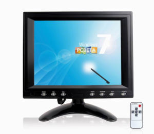 8 Inch LCD Monitor with Touch Screen VGA Interface pictures & photos