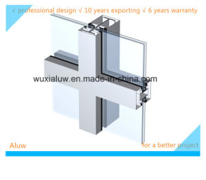 Envrimental Protection Visible Curtain Wall pictures & photos