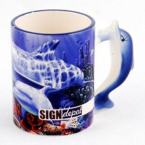 Animal Ceramic Mug-Dolphin