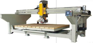 Automatic Bridge Saw with 45 Degree Table Tilting pictures & photos