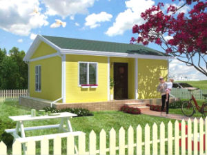Cost Saving and Light Weight Steel Prefab House Kits (KXD-58) pictures & photos