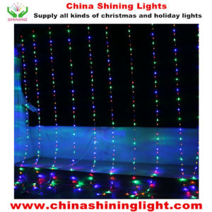 Multicolor Waterfall Holiday LED Christmas Lights pictures & photos