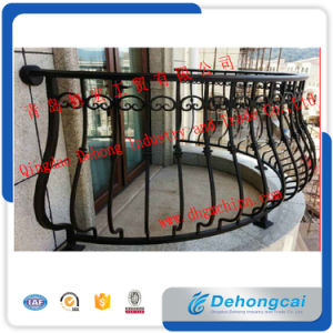 Professional Manufacture Security Wrought Iron Balcony Fence pictures & photos