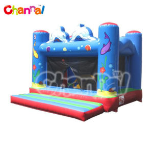 Dolphin Inflatable Bouncer/Inflatable Bouncer for Toddlers Bb077 pictures & photos
