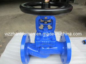 Stainless Steel 304/316 /Cast/Carbon Steel DIN Bellows Seal Globe Valve Wj41h pictures & photos