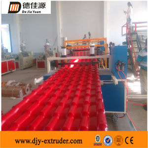 Plastic Glazed Tile Extrusion Line Plastic Machinery (SJSZ80/156)
