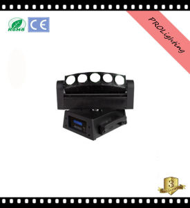 Prolighting 5 Eyes White LED Beam Moving Head Light pictures & photos