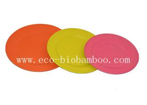 (BC-P2001) Bamboo Fiber Tableware Plate pictures & photos