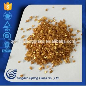 Light Yellow Glass Powder pictures & photos