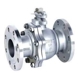 2PC DIN Flanged Stainless Steel Ball Valve pictures & photos