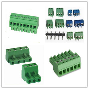 3.5mm 3.81mm 5.0mm 5.08mm Pitch Terminal Block Connector pictures & photos