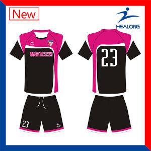 100% Customized Sublimation Football Uniform (Soccer Uniform) pictures & photos