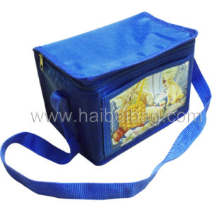 Polyester Promotional Lunch Bottle Food Cooler Bag (HBCOO-9) pictures & photos
