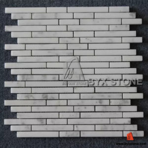 Polished Star White Marble Mosaics for Wall and Floor pictures & photos