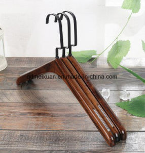 Rack Wholesale Clothing to Dry Solid Wooden Clothes Rack Pants Wearing Green Clothes Hanging of The Lacquer That Bake (M-X3598) pictures & photos
