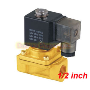 1/2′′ Direct Drive Solenoid Valve Model PU220-04A 2 Way Brass Solenoid Valve pictures & photos