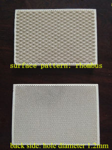 Cordierite Infrared Ceramic Honeycomb Plate Catalytic Heating Plate pictures & photos