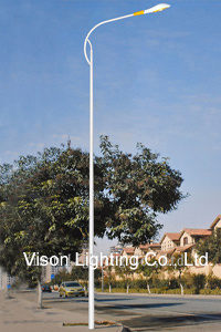 Single Arm LED Light Street Lighting Pole