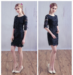 Charming A Line Strapless Appliques Knee Length Cheap Cocktail Dresses Under 30 Homecoming Dresses (HS139) pictures & photos