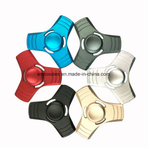 Aluminum Profile 608 Bearing Toys Toys Stress Reducer LED Light Fidget Spinner 2017 pictures & photos